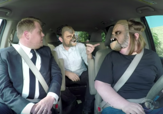 Chewbacca Mom Does Carpool Karaoke With 'Star Wars' Director J.J. Abrams