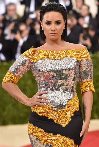 "Demi Lovato, ""Manus x Machina: Fashion In An Age Of Technology"" Costume Institute Gala - Arrivals"
