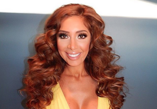 Farrah Abraham Shills Dating App, Hangs With Simon Saran