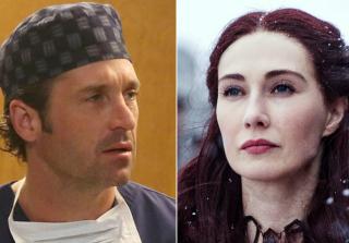 Game of Thrones's Melisandre Resurrects Grey's Anatomy's Derek (VIDEO)