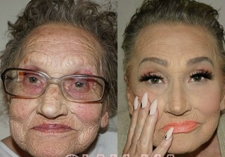 This Grandmother\'s Makeup Transformation Will Blow Your Mind