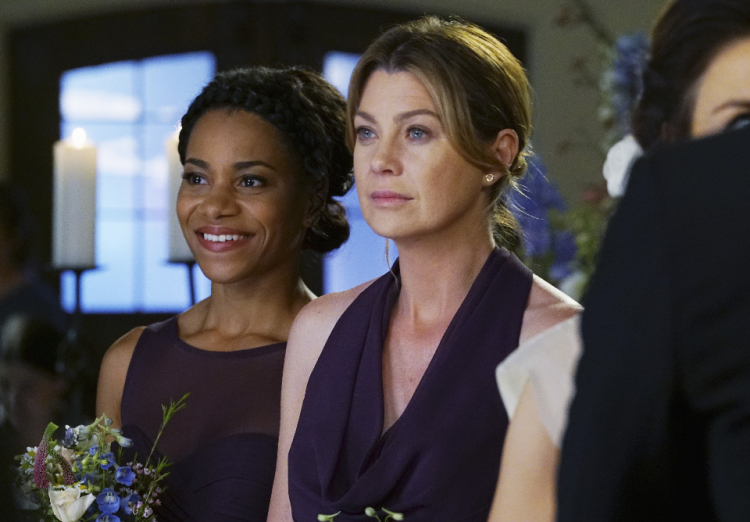 Grey's Anatomy Season 12 finale, Maggie Pierce, Kelly McCreary, Meredith Grey, Ellen Pompeo