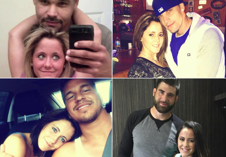 jenelle evans relationships boyfriends