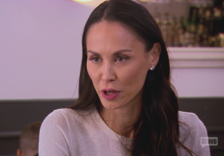 'RHONY' Newbie Jules Opens Up to Bethenny About Her Eating Disorder (VIDEO)