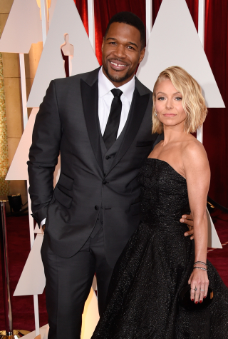 Kelly Ripa and Michael Strahan Emmys 2016