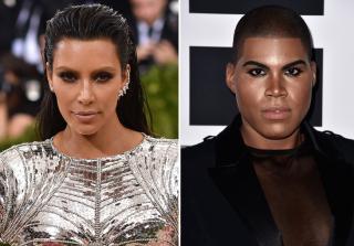 EJ Johnson Channeled Kim Kardashian at a Wedding & Outdid Her (PHOTO)
