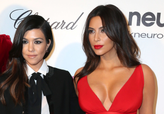 Kourtney and Kim Kardashian Had All the Father's Day Feels (PHOTOS)