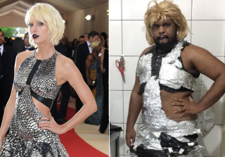 Male Blogger Recreates Met Gala Dresses With Toilet Paper, Tinfoil (PHOTOS)