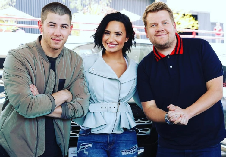 nick-jonas-demi-lovato-carpool-karaoke-video