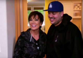 Rob Kardashian Says Some Very Inappropriate Things to His Mom (VIDEO)