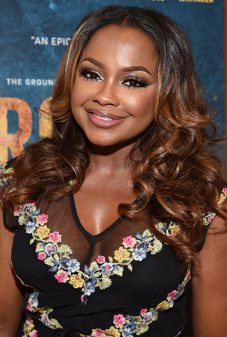 Phaedra Parks Attends Roots Atlanta Screening at National Center for Civil and Human Rights on May 9, 2016