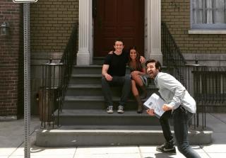 Lea Michele, Robert Buckley Make Instagram Debut on Set (PHOTOS)