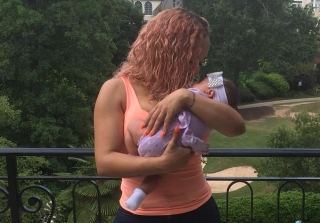 Tiny Harris Finally Unveils 2-Month-Old Heiress Diana! (PHOTO)