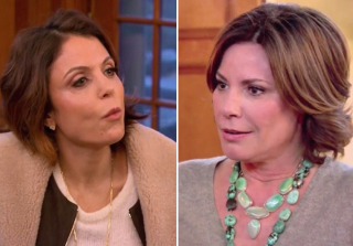 "Bethenny Frankel ""Wouldn't Mind"" Strangling Luann de Lesseps (VIDEO)"