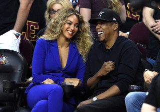 Beyonce and Jay Z Have Date Night at NBA Finals Game 6 (PHOTOS)