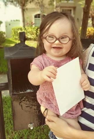 Down syndrome baby, Courtney Baker, Emersyn Faith
