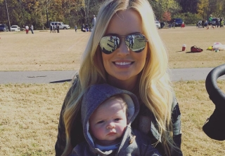Emily Maynard\'s Son Jennings Is Getting So Big & Cute! (PHOTO)