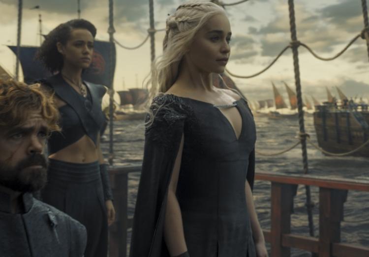 Game of Thrones, Emilia Clarke, Daenerys Targaryen, Season 6 finale