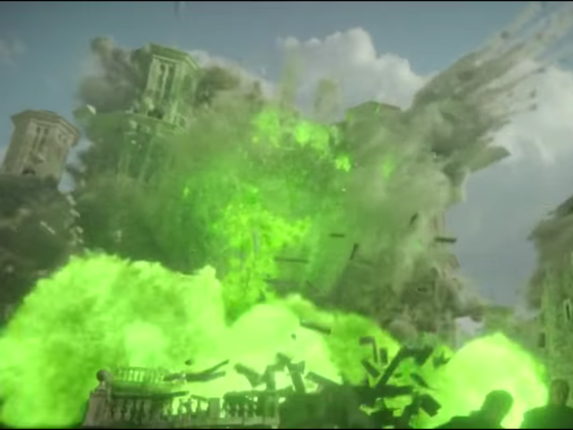 Game of Thrones Season 6 finale, Great Sept explosion