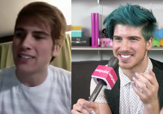 Joey Graceffa Reacts to His First YouTube Ever! (VIDEO) — Exclusive