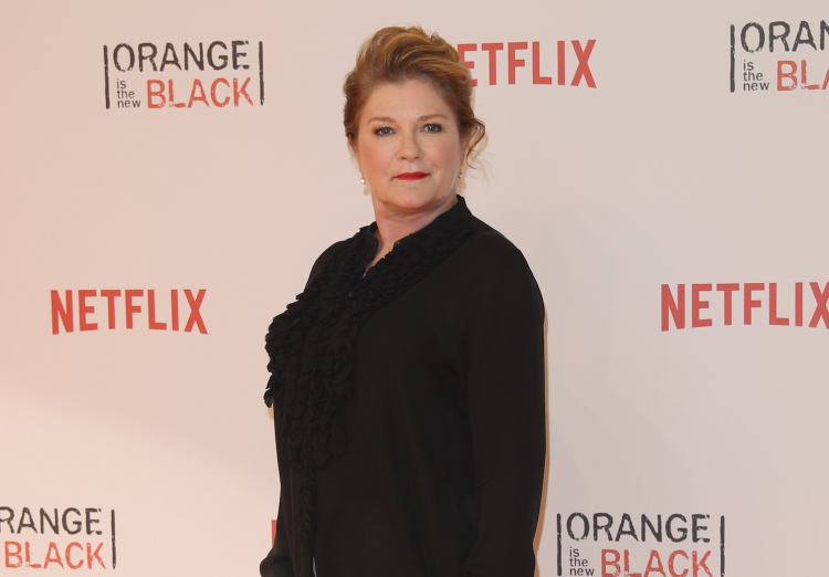Kate Mulgrew was born with a full set of teeth — and kept in a cage.