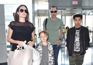 Knox Jolie Pitt Is the Spitting Image of Brad! (PHOTOS)