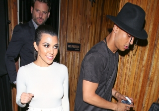 Kourtney Kardashian Leaves Club With Diddy's 25-Year-Old Son (PHOTOS)