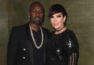Kris Jenner & Corey Gamble Spark Wedding Rumors With Matching Rings (PHOTOS)