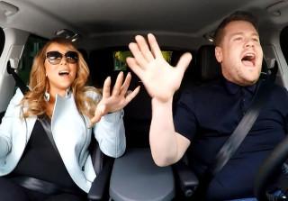 Mariah Carey Tried to Do Carpool Karaoke Without Any Singing (VIDEO)