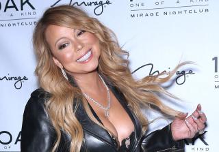 Mariah Carey Flaunts Bare Booty at Las Vegas Club Appearance (PHOTOS)