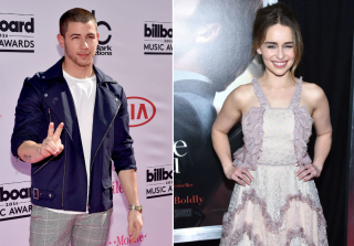 Nick Jonas Is Totally Obsessed With \'Game of Thrones\' Star Emilia Clarke