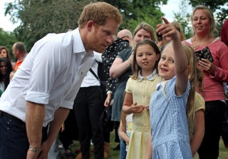 Prince Harry's Reaction to Little Girl's Marriage Proposal Is Everything
