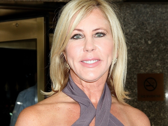 """""""Real Housewives of Orange County' star Vicki Gunvalson spotted leaving NBC Studios in NYC"""