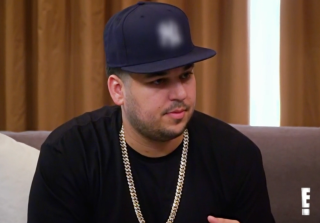 Does Rob Kardashian's New Neck Tattoo Reveal Baby Name?
