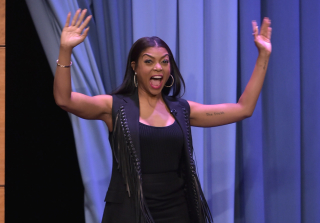 "Taraji P. Henson Reveals What That ""P"" Stands For & More"