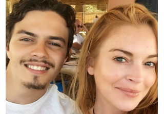 Lindsay Lohan Finds Suspicious Text on Fiance's Phone  — Report