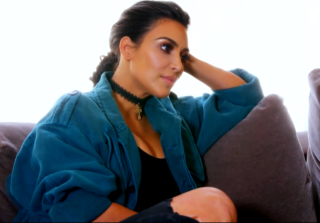 Kim Kardashian Addresses Taylor Swift 'Famous' Rumors in 'KUWTK' Clip (VIDEO)