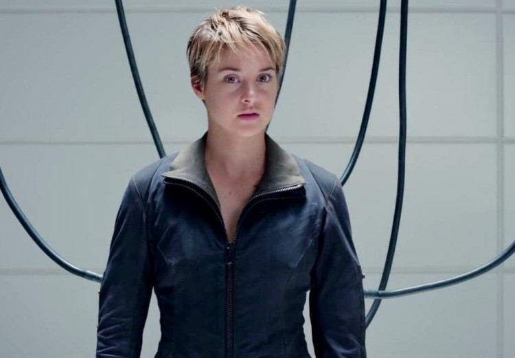 Ascendant TV movie, Shailene Woodley in Insurgent