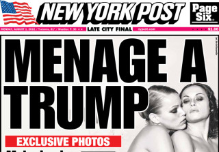 UPDATE: Nude Photo of Melania Trump With Another Woman Resurfaces