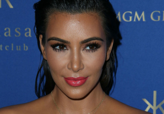 Celebrity cleavage, Kim Kardashian
