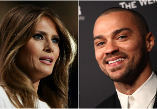 Jesse Williams Creates #FamousMelaniaTrumpQuotes Meme