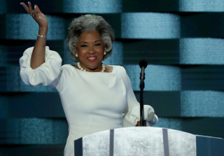 Rep. Joyce Beatty Shades Melania Trump in Identical Dress at DNC