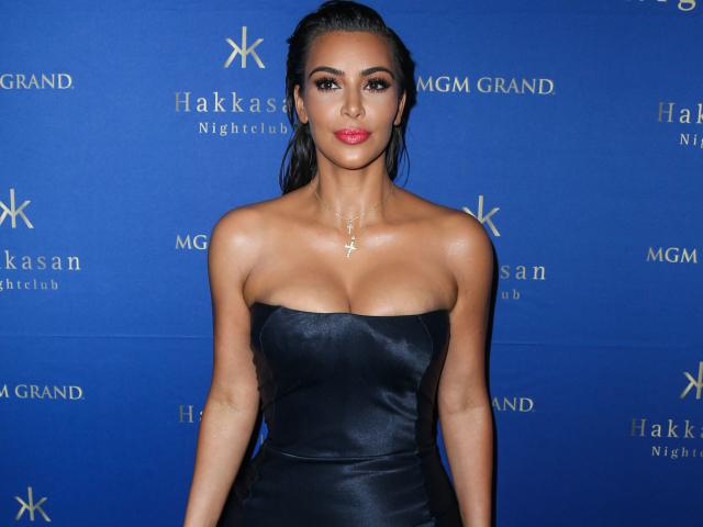 Kim Kardashian West Hosts Hakkasan Las Vegas at MGM Grand