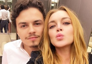 "Lindsay Lohan Accuses Fiance of Cheating, Says She's ""Pregnant"""