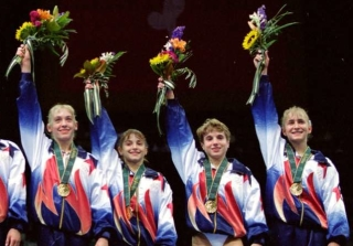 "Where Are the ""Magnificent Seven"" U.S. Gymnasts Now, 20 Years Later?"
