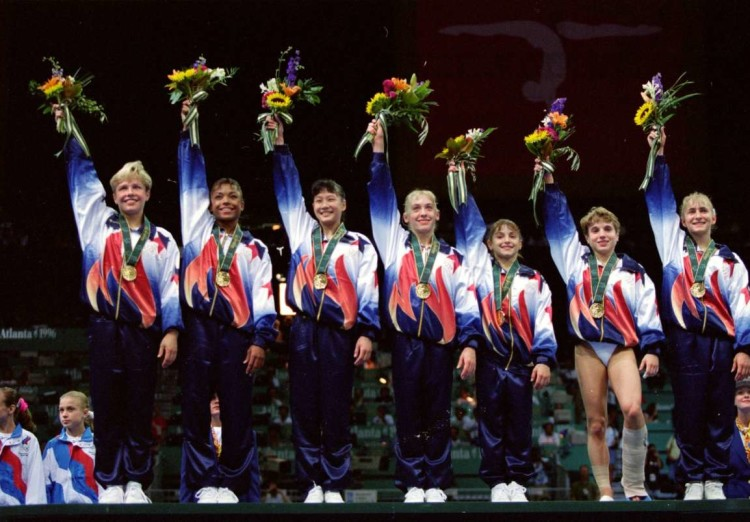 Magnificent 7 now, 1996 Olympics