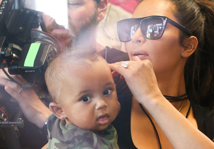 saint west photos