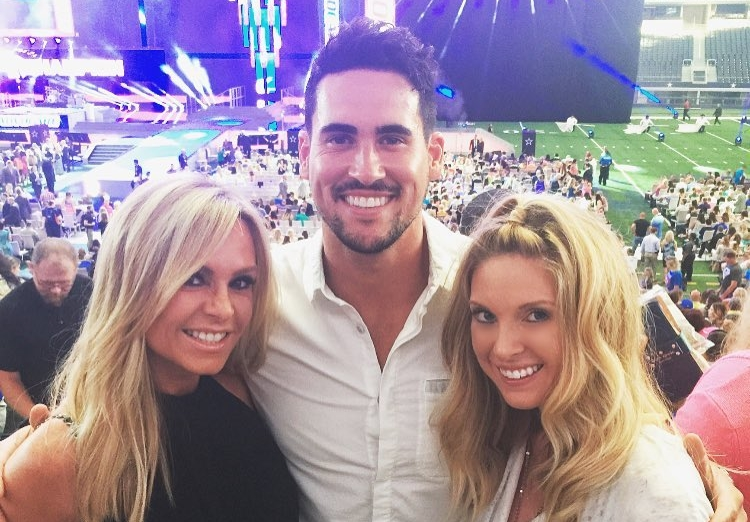 Josh Murray and Tamra Judge