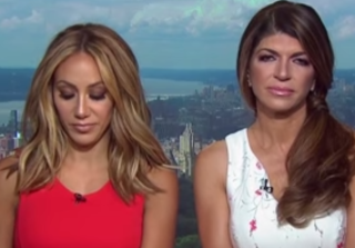 Teresa Giudice Storms Out of \'Access Hollywood LIVE\' Interview (VIDEO)