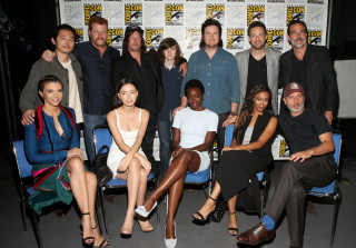 'The Walking Dead' Cast Look Unrecognizable At Comic-Con